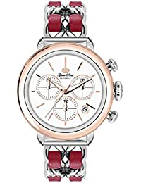 Glam Rock Bal Harbour Damen-Armbanduhr 40mm Armband Leder Multicolor Gehäuse Edelstahl Batterie GR77134