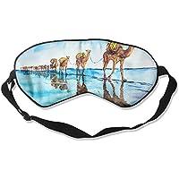 Sleep Eye Mask Caravan of Camels Lightweight Soft Blindfold Adjustable Head Strap Eyeshade Travel Eyepatch E15 preisvergleich bei billige-tabletten.eu