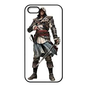 iPhone 4s phone case Black Assassins Creed Black Flag LLPS3570211