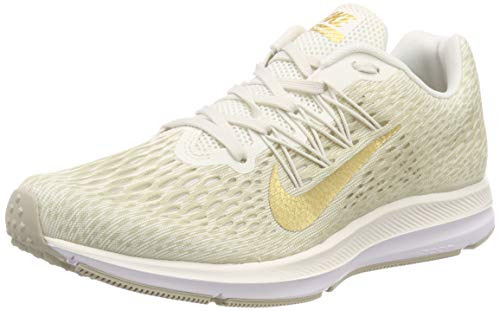 the best attitude 81b2b 46dab Nike Wmns Zoom Winflo 5, Zapatillas de Running para Mujer, Gris (Phantom