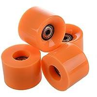 Roues de skateboard–SODIAL (R) Lot de 4roues de skateboard Penny Largeur: 6cm de diamètre et 4,5cm pour Rose
