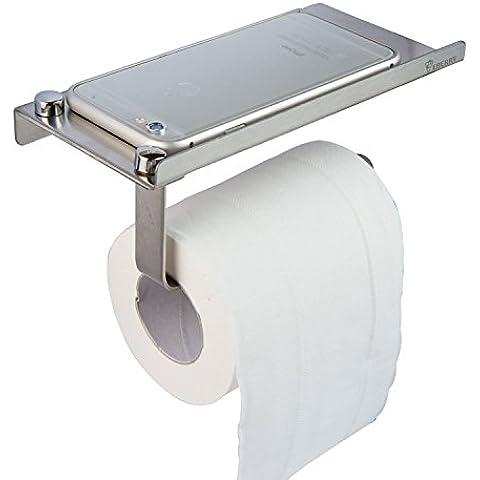 Carta igienica, spazio telaio per WC in acciaio inox carta igienica Planes accessori per il bagno