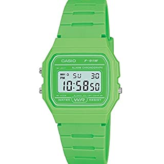 Casio Men's Green Digital Watch with Resin Strap F-91WC-3AEF (B0042SJSUO) | Amazon price tracker / tracking, Amazon price history charts, Amazon price watches, Amazon price drop alerts