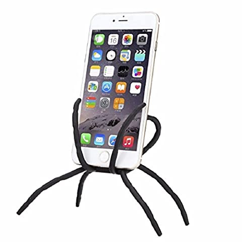 Bendable Spider Flexible Grip / Mount / Stand Car Phone Holder & Dock @KOW