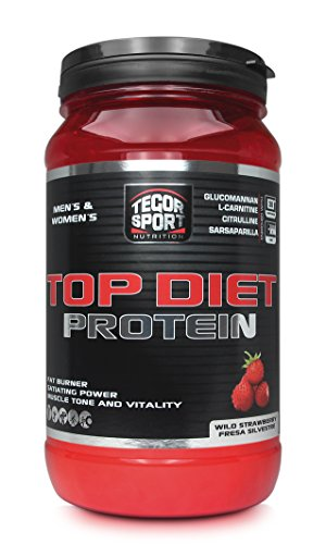 Tegor Sport Top Diet Protein Complemento Nutricional Sabor Fresa Silvestre - 840 gr