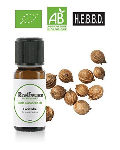 Huile Essentielle de Coriandre Bio Revelessence (10 ml)