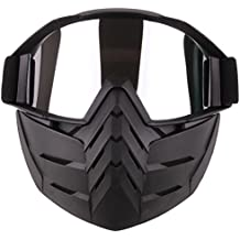 Giplar Táctica Máscara Airsoft Máscara Boca Paintball Máscara Protección Máscara Airsoft CS ...