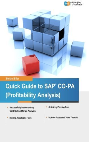 Quick Guide to SAP CO-PA (Profitability Analysis) by Stefan Eifler (2014-04-12) par Stefan Eifler