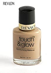 Revlon Touch and Glow Liquid Make Up, Sand Mist, 20ml