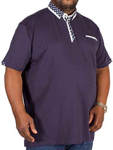 D555 Herren Poloshirt blau navy Navy - Blue