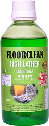 CERO FLOORCLEAN High Lather Liquid Floor Soap (200ml)