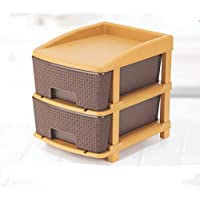 NAYRA Fashion Premium Plastic Multicolor Multipurpose Storage System Space Save Modular Drawer for Home Office Parlor…