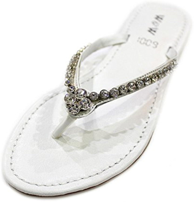 Wear & Walk UK - Zapatillas de estar por casa de Piel para mujer