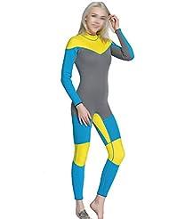 Hommes Et Femmes Tenues De Surf Costume De Plongée Tuba Conjointe Multicolore Multi-taille