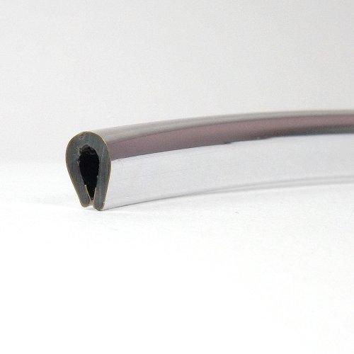Chrom-Verkleidung für's Auto, Schutzkante, 4,5x 8mm