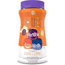Solgar - Naranja y fresa de Gummies de la vitamina C de los niños de los U-Cubos - 90Gomitas