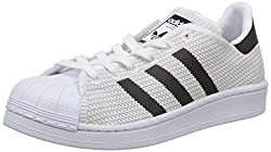 adidas Unisex-Kinder Superstar Sneaker, Weiß (Footwear White/core Black/core Black), 37 1/3 EU