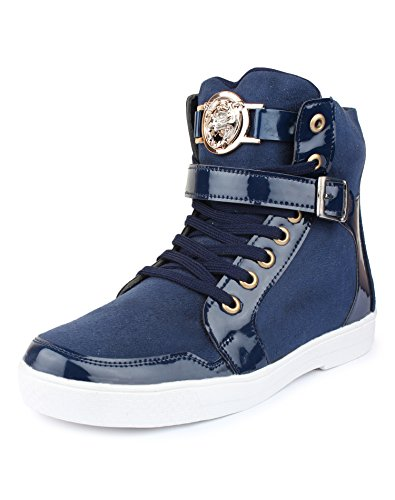 jynx Men's Faux Leather Sneakers