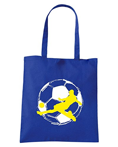 T-Shirtshock - Borsa Shopping WC0557 Soccer 2 Blu Royal