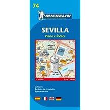 Plan Michelin Seville
