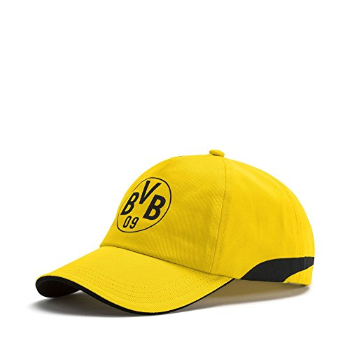 PUMA BVB Trainings-Cap Cyber Yellow-Puma Black OSFA