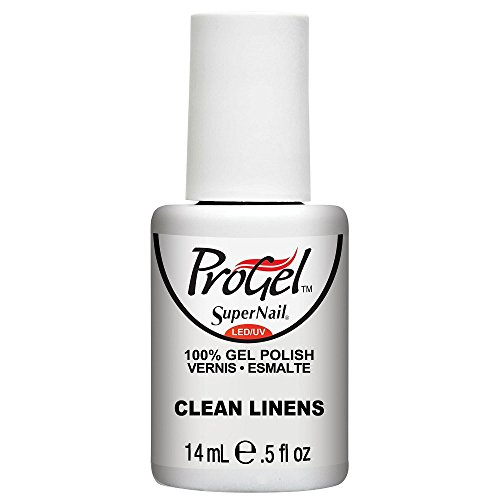 SuperNail ProGel LED/UV Vernis à Ongles - Clean Linens - 14ml