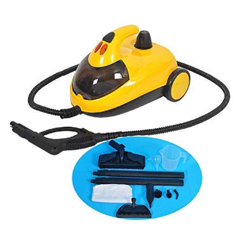 MU Rolling + Handheld Steam Cleaner - 1800W-12 Multifunktionszubehör Haushaltsreinigungssystem - Reinigung von Fußböden, Fenstern, Teppichen, Öfen, Fahrzeugen,# 1 (3 8 1 4 Drehen Sie Das Ventil)