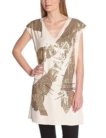 Vero Moda Women's Dress Beige Beige (Oatmeal)