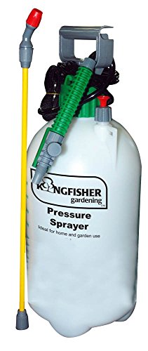 Buy the Kingfisher garden pressure sprayer for applying pesticides and weedkillers around your home & garden
