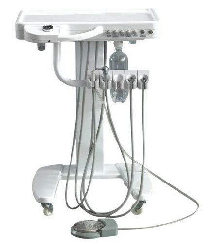 4 loch Dental Mobile Shelf Zahnärztliches Cart Einheit Tragbarer Rollwagen