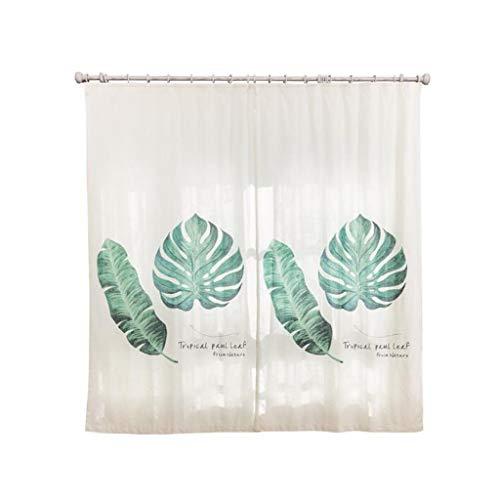 TD X9652 Vorhang, Schattierung Baumwolle Und Leinen Kleine Frische Einfache Moderne Licht Luxus Wohnzimmer Schlafzimmer 2 * W 1,35 Mt × L 2,6 Mt