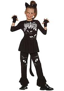 César G731 - Disfraz de gata para niña (10 años)