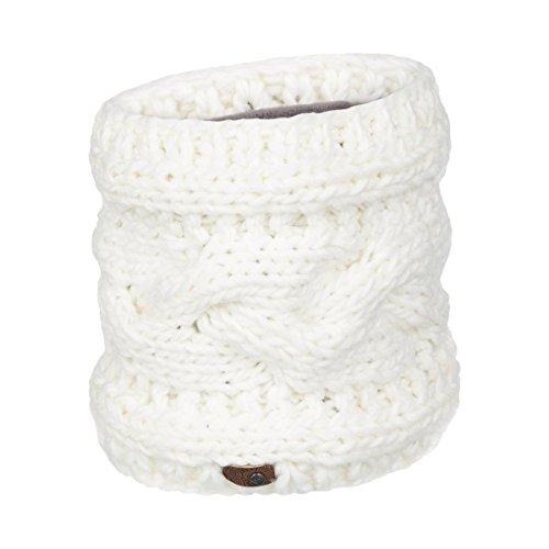 roxy-veste-dhiver-collier-cache-cou-blanc-taille-unique