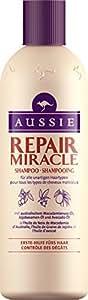 Aussie Repair Miracle Shampoing pour Tous les Types de Cheveux Malicieux 300 ml
