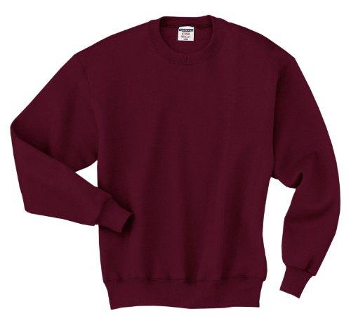 Jerzees 9.5ml super suda® 50/50quarter-zip pullover Maroon