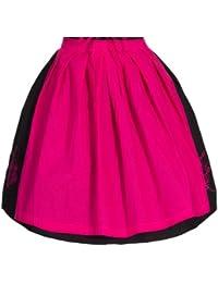 Dirndlschürze Pink Größe 34-52 Dirndl