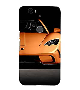 EPICCASE stylish drive Mobile Back Case Cover For Huawei Nexus 6P (Designer Case)