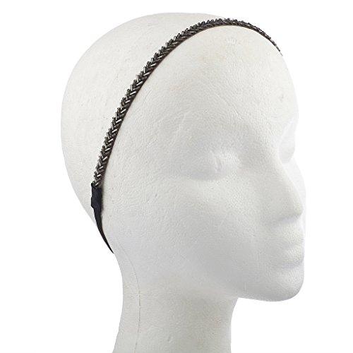 lux-accessories-nero-silvertone-bugle-bead-headwrap-fascia-stretch-elastico