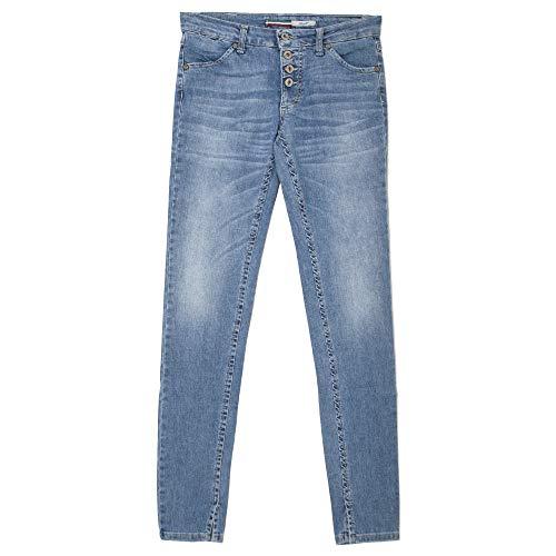 Please, P90C, Damen Jeans Hose, Stretchdenim, lightblue Used, Large [21006]