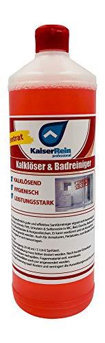 Kalk & Badreiniger Konzentrat 1 L (1000 ml) Kalkreiniger & Urinsteinlöser entfernt Kalk und Schmutz in Küche und Bad