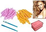 Best Bigudíes de pelo para los pelos largos - 40 x rulos suaves flexibles para rizar el Review