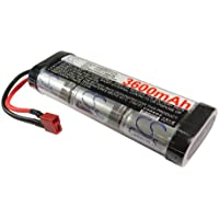 Battery for Remote control RC car Deans / T-Plug Ni-MH 7.2V 3600mAh - SC