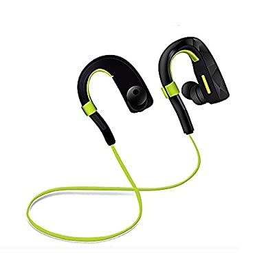 Bluetooth Headphones Sports Headset Wireless Sweatproof In-ear Earbuds for Hiking, Running, Jogging, Workout, Gym and More