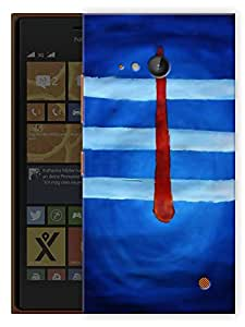 """Humor Gang Shiva Forehead - - Indian Hindu God Printed Designer Mobile Back Cover For """"Nokia Lumia 730"""" (3D, Matte Finish, Premium Quality, Protective Snap On Slim Hard Phone Case, Multi Color)"""