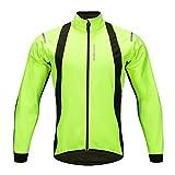 Lixada Giacca da Ciclismo da Uomo, Giacca Invernale Calda in Pile Antivento, Maglia da Bicicletta MTB + Cappotto Invernale da Esterno