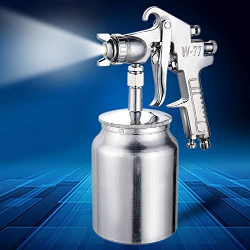 FENGE Luft Spritzpistole Lackierpistole, Airbrush Kit Touch-Up Paint Sprayer/Gravity Feed Luft Pinsel Set/Auto Car Detail Malerei für Spot Repair,2.5