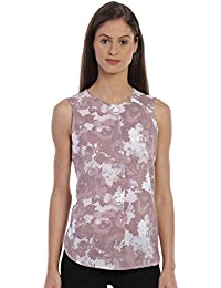 Bombay High Women's Printed Sleeveless Casual Top