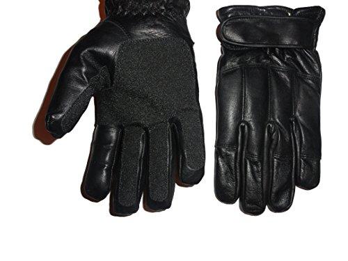 Handschuhe Echtleder Blei & Kevlar Türsteher Security - L