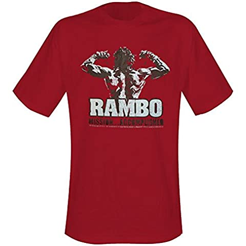 Rambo - T-Shirt Mission Accomplished (in L) - T-shirt Mission Accomplished