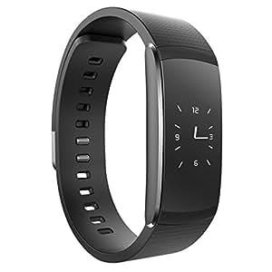 Braccialetto intelligente, Forrader IP65resistente all' acqua fitness tracker con OLED touch screen, Bluetooth 4.0contapassi, Smart Wristband, sleep monitor, Call/MSM promemoria per Android/iOS smartphone, i6 Pro